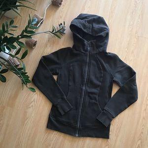 Lululemon scuba hoodie dark olive size 4